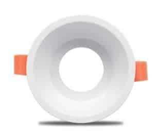 Einbaurahmen für GU10, weiß