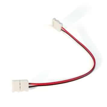 2pin,8mm width PCB, white