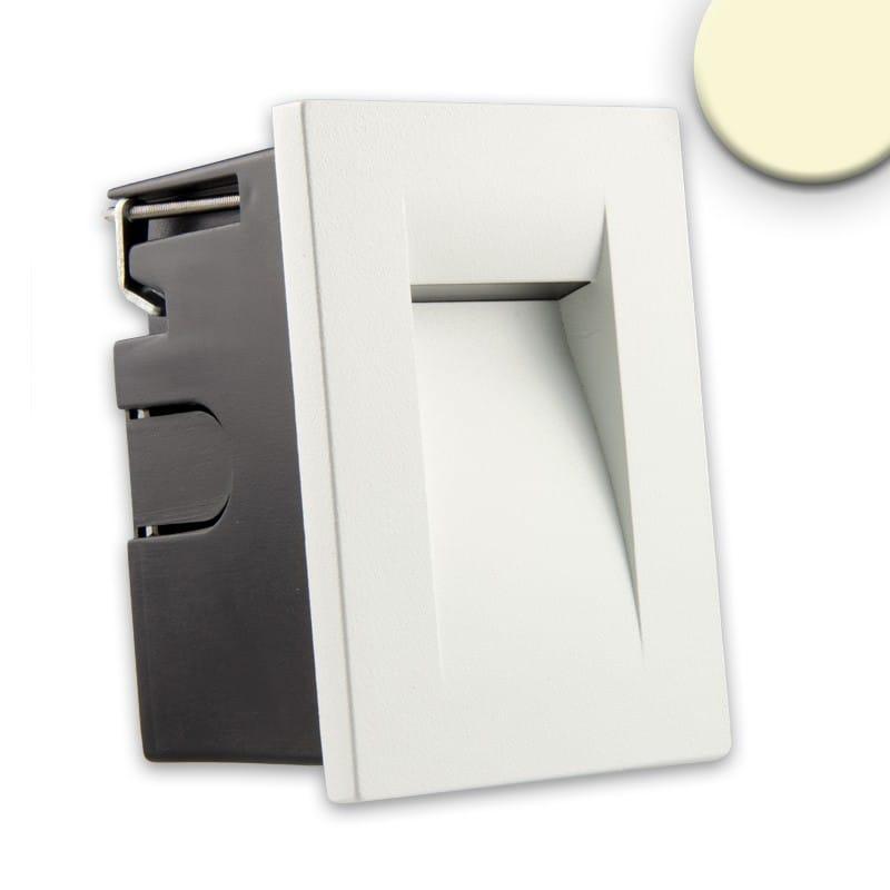 Wandeinbauleuchte IP65 3W weiß