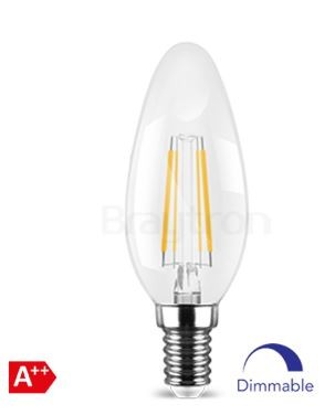 FILAMENT CANDLE C35 DIMMABLE 4W E14 ADVANCE